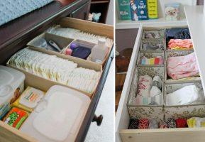 Bebê é sinônimo de casa arrumada Berçário e Sala de Jogos Casa e Jardim  organizar